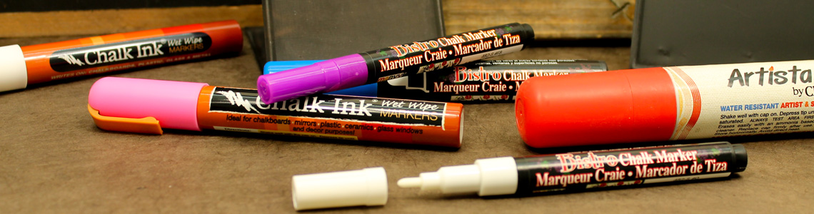 Chalk Markers and Chalk Pens