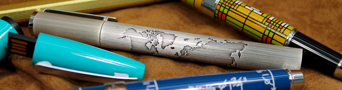 Fine writing pens by acme troika jac zagoory and jean Elegant writer calligraphy pens