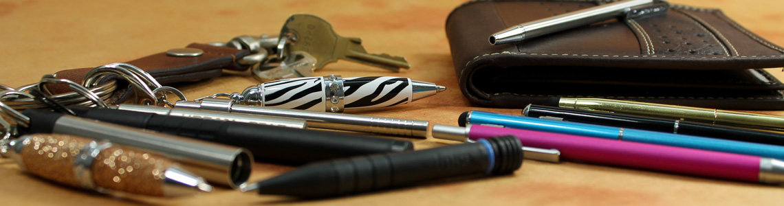 Keychain and Wallet Pens