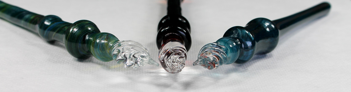 Fat Glass Dip Pens