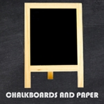 Chalkboards and Chalk Paper
