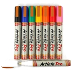 Artista Pro Chalk Ink Markers - 8 Classic Colors