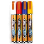 Chalk Ink Wet Wipe Markers - AUTO CHALK 4-PACK