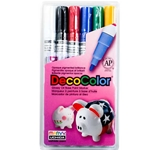 Uchida DecoColor Fine Point Paint Marker Set