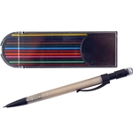Mechanical Pencil with 12 Colored Refills