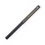 Stowaway Space Pen with Clip - BLACK