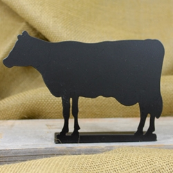 Standing Chalkboard Table Sign - COW
