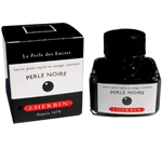 J Herbin Perle Noire - BLACK Dip Pen and Fountain Pen Ink 30ml