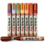 Artista Pro Chalk Ink Markers - 8 Earthy Colors