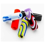 Foam Pencil and Pen Grip - 5 Pack - TIE DYE