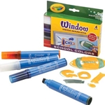 Crayola Mega Window Marker 4 Piece Set