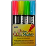 Marvy Bistro Chalk Markers - FLUORESCENT BASIC