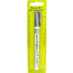 DecoArt Glass Paint Marker - SILVER