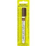 DecoArt Glass Paint Marker - BROWN