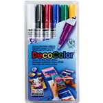 Uchida DecoColor Extra Fine Point Paint Marker Set