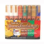 Chalk Ink Wet Wipe Markers - Brewed Awakenings