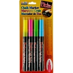 Uchida Fine Point Bistro Chalk Markers - FLUORESCENT
