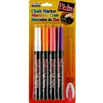Uchida Fine Point Bistro Chalk Markers - FLUORESCENT BRIGHT