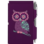 Wellspring Flip Note - PURPLE OWL