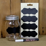 Chalkboard Label and Chalk Pen Set