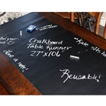 Chalkboard Table Topper Roll Mat