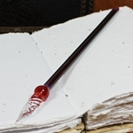 Mercury Glass Dip Pen - POMEGRANATE