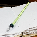 Mercury Glass Dip Pen - SPRING