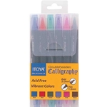 Doubleheader Calligraphy Marker Set - Primary Colors