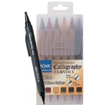 Doubleheader Calligraphy Marker Set - Earthy Colors