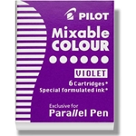 Pilot Parallel Pen Refill Cartridges - PURPLE
