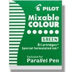 Pilot Parallel Pen Refill Cartridges - GREEN