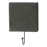 Slate Hanger with Hook - SQUARE