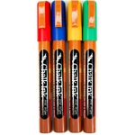 Chalk Ink Wet Wipe Markers - CLASSIC 4-PACK - 1mm