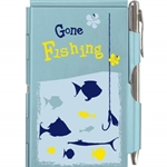Wellspring Flip Note - GONE FISHING