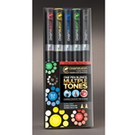 Chameleon Deluxe Alcohol Marker Set - PRIMARY TONES (5-Pieces)