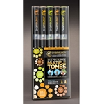 Chameleon Deluxe Alcohol Marker Set - EARTH TONES (5-Pieces)