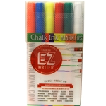 Chalk Ink EZ Writer Markers - PRIMARY - 6 PACK - 1mm