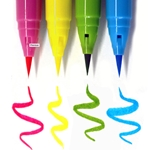 Zig Clean Color Real Brush 4 Piece Marker Set - Pop