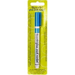 DecoArt Glass Paint Marker - TURQUOISE